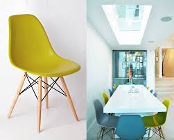 molded plastic dining chairs. Coloured Eames Chairs Get Fruity With Brightly Kitchen Dining Da On Molded Plastic