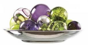 Decorative Glass Balls For Bowls Purplelushious Glass Balls Love It Pinterest Glass 1