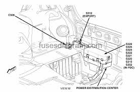 fuses and relays box diagram chrysler 300 chrysler300 blok bafazh 2