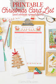 Christmas Card Mailing List Day 10 Greeting Card Address List Aa Stuff I Want Need To