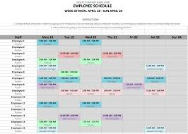 schedules template in excel 12 steps to a microsoft excel employee shift schedule hubworks
