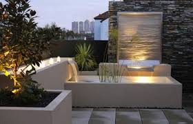 Small Picture Outdoor Garden Wall Lights Ntemporary Water Feature Makeovers