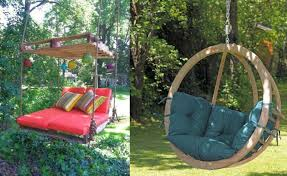 Small Picture Garden swing ideas