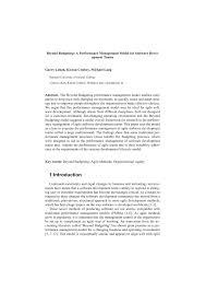pdf beyond budgeting a performance
