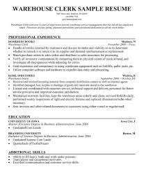 Clerk Resume Objective Army Clerical Resume Sales Clerical Lewesmr
