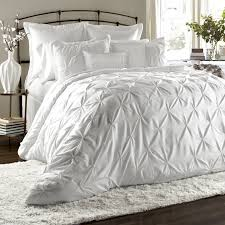 Lux 6 Piece Comforter Set - The Lux 6 Piece Comforter Set features three  dimensional embroidery that creates a beautiful diamond texture across  polyester ...
