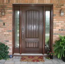 Decorating wood front entry doors with sidelights images : How to Protect Front Entry Doors with Sidelights | Rooms Decor and ...