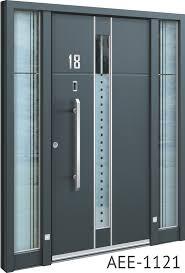 grey front doorSpitfire S500 Series Beautifully Engineered Aluminium Entrance Doors