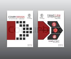 red black elegant vector annual report leaflet brochure template design book cover layout design red brochure black brochure stock vector colourbox
