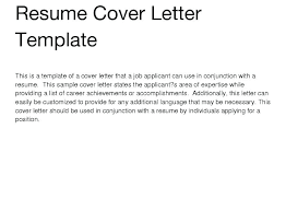 generic resume cover letter. Writing A General Cover Letter General Resume Cover Letter General