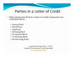 what is letter of credit 6 638 cb=
