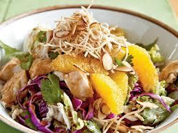Asian chicken salad receipe