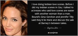 Lesbian love scenes gia