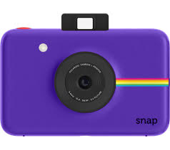polaroid snap instant purple