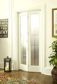 frosted glass bifold closet doors interior