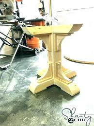 how to build a round table base round table base table bases wood pedestal table base