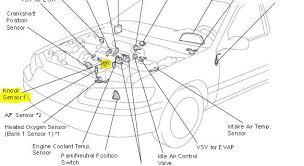 p0325 2000 toyota camry knock sensor circuit malfunction need more help
