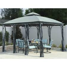 treasure garden patio umbrella replacement canopy garden treasures gazebo awesome garden treasures pergola