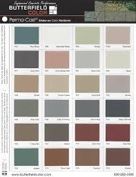 Solomon Concrete Color Chart Colored Concrete Supplies In Chattanooga Huntsville