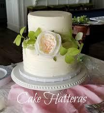 Small Wedding Cake With Silk Flowers Cake By Donna Tokazowski