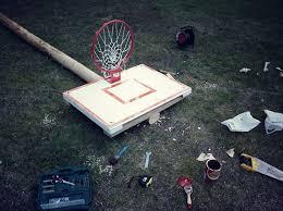 diy basketball backboard priit tammets
