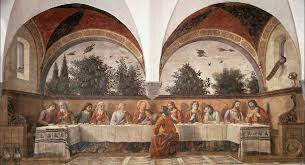 on large last supper wall art with domenico ghirlandaio the last supper