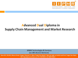 advanced dual diploma in supply chain management and market  advanced dual diploma in supply chain management and market research