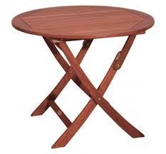 Gartentisch Holz Rund Klapptisch Klappbar Holztisch Esstisch