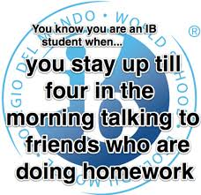 You Know You're In IB When ... (241 examples) ~ IB Memes via Relatably.com