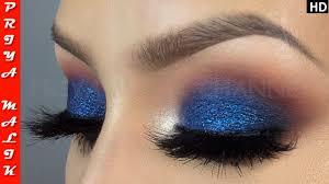 eye श ड लग न क आस न तर क easy blue eye shadow makeup tutorial for beginners priya malik
