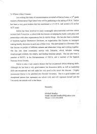 Recommendation Letter Sample For Teacher From Parent Http Www