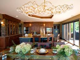 custom kitchen lighting. Image Of: Large Kitchen Lights Over Table Custom Lighting R