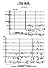 Brick House Horn Chart Commodores Sheet Music To Download And Print World Center