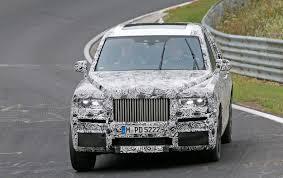 Rolls-Royce V16 roadster (2017) scoop by CAR Magazine