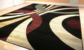 image of contemporary colorful area rugs