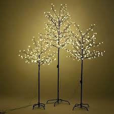 lighted tree floor lamp 7 led lighted le glass globe with glitter accent holiday decor for lighted tree floor lamp
