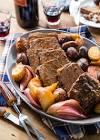 bloody  mary pot roast dinner