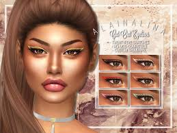 Alaina Lina's Cut-Out Eyeliner – Sweet Sims 4 Finds