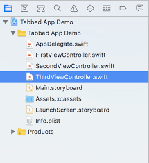 Starting an iOS Tab Bar App with UITabBarViewController (Updated 2018)