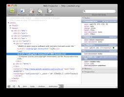 Web Inspector Redesign | WebKit