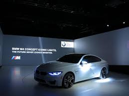 Sport Series bmw laser headlights : BMW Unveiled the M4 Concept Iconic Lights - YouWheel.com - Your ...