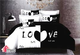 king and queen bed. Brilliant And MHO_Ultra Soft KingQueen Size 4 Pcs Bedding Set_Love U2039 U203a With King And Queen Bed
