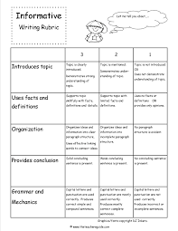 informational writing prompts rd grade worksheet format and example informative writing lesson plans