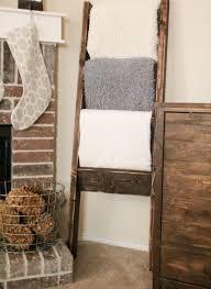 Diy Blanket Ladder Modern Blanket Ladder Diy Optimizing Home Decor Ideas