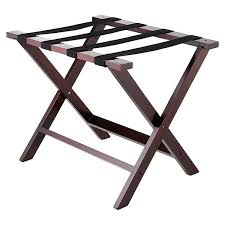 luggage stand folding wooden luggage rack maple white luggage stand folding