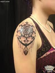 Dream Catcher Tattoo On Shoulder