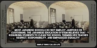 Japanese Schools Dont Need Janitors Simple Thing Called Life