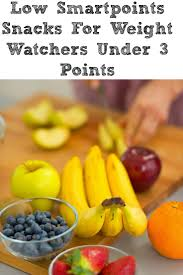 these low smartpoints snacks for weight watchers will help you to stay on target with the