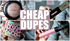 dupes for high end makeup 2016
