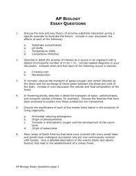 Biology Essay Questions Www Moviemaker Com